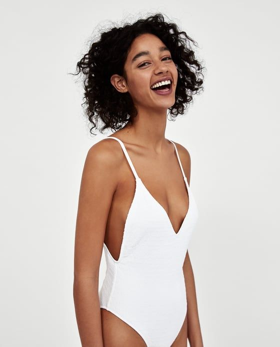 ZARA - WOMAN - TEXTURED SWIMSUIT