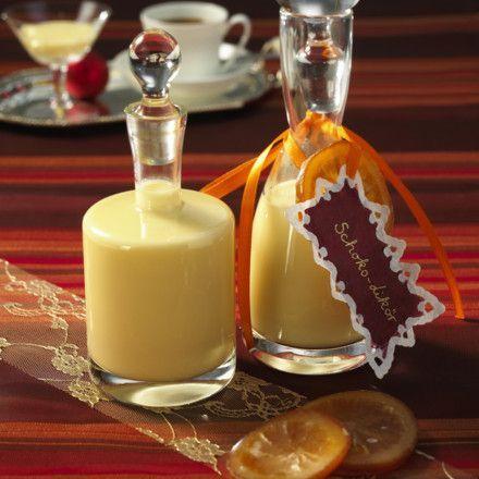 Weißer Schokoladen-Orangen-Likör Rezept Mehr
