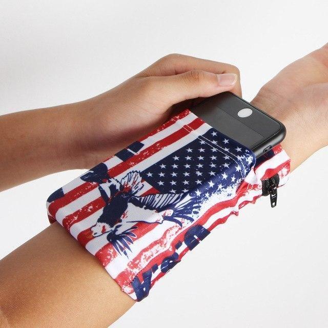 Sport Storage Wrist Wallet 4 Colors Wrist Wallet Diy Wrist Wallet Wallet Pouch