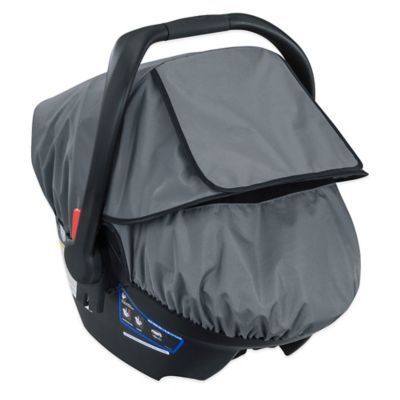 Britax B Covered All Weather Car Seat Cover In Grey