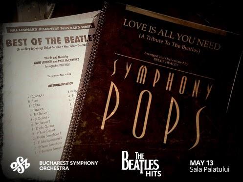 Yesterday...nah nah nah nah nah nah far away.. :) The Beatles Hits on Monday 13 @ Sala Palatului. With Bucharest Symphony Orchestra.