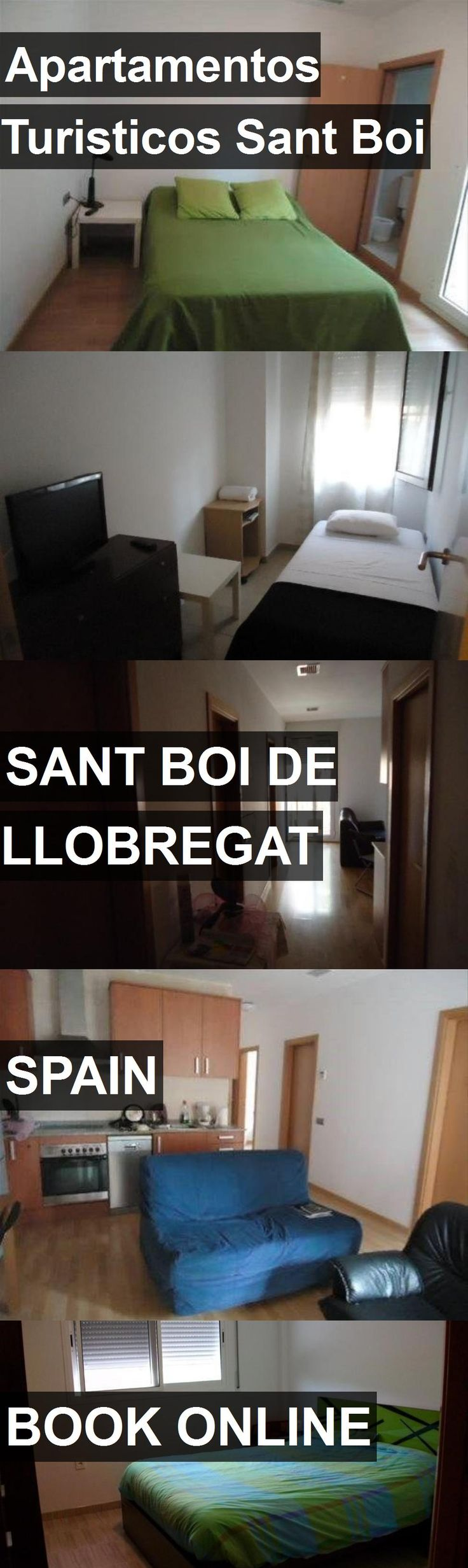 Hotel Apartamentos Turisticos Sant Boi in Sant Boi de Llobregat, Spain. For more information, photos, reviews and best prices please follow the link. #Spain #SantBoideLlobregat #ApartamentosTuristicosSantBoi #hotel #travel #vacation