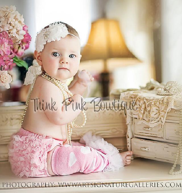 【楽天市場】ベビーレッグウォーマー☆ピンク&白の大きなハート模様♪0−2才:ベビー&ウェディング ミシア