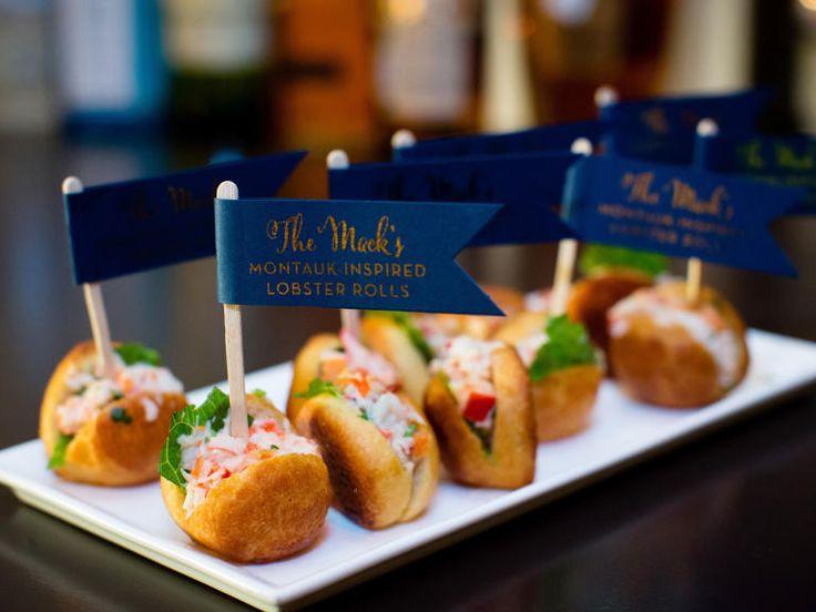 Our Favorite Wedding Eats Ever | https://www.theknot.com/content/best-wedding-food-ideas