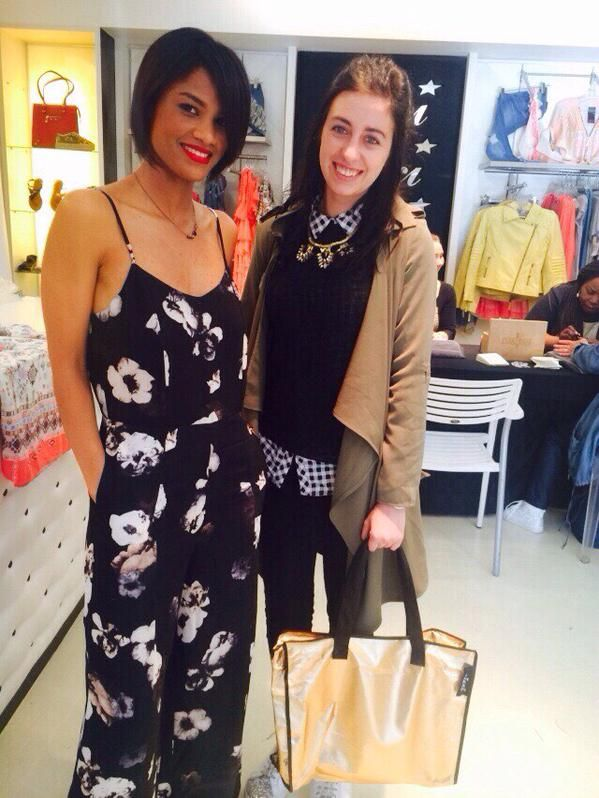 Fantastic having the fabulous Magdel from #SarieMagazine at the #NicciSummer15 launch #CapeTown