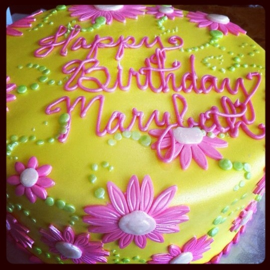 Flower Cake Birthday Images