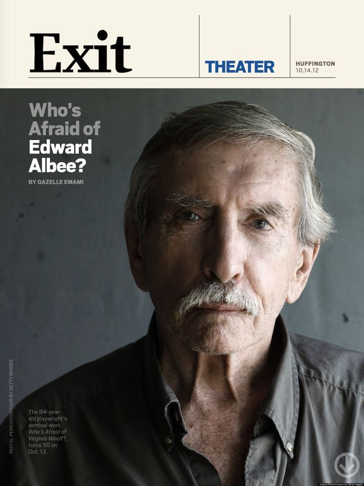 EDWARD ALBEE, 84, inches his...