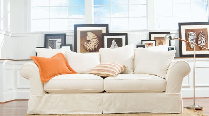 Jennifer S Convertibles Slipcover Couch Den Sea Pinterest Jennifer Convertibles
