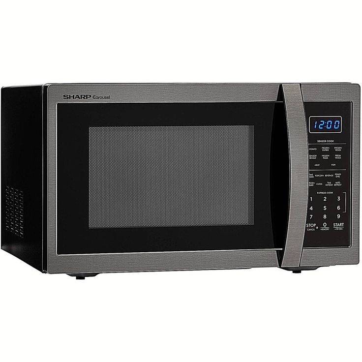 Easy Clean Microwave Oven Stainless Steel 1.4 Cu Ft 1000 Watts 12.4-Inch New     #DealsToaday