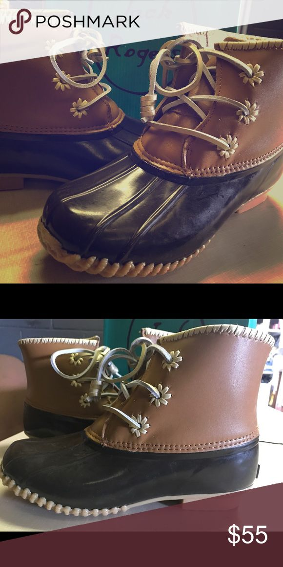 🌻SPRING CLEARANCE🌻 JACK ROGERS CLASSIC CHLOE Brand new with tags. ❤️❤️ These fit a half size smaller in my opinion. I normally wear an 8.5 and the 8's fit me 🌻🌻 Jack Rogers Shoes Winter & Rain Boots