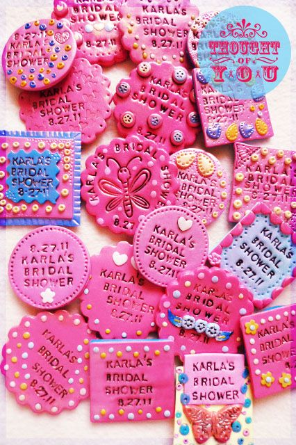 Bridal Shower Souvenirs! (Ref Magnets)