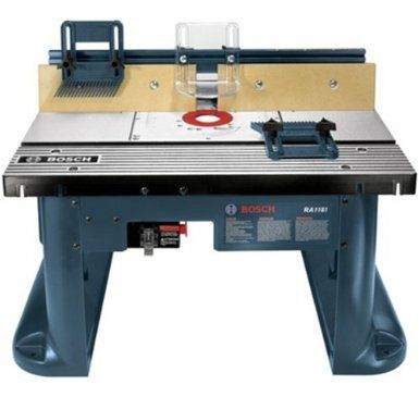 Bosch RA1181 Benchtop Router Table: Home Improvement
