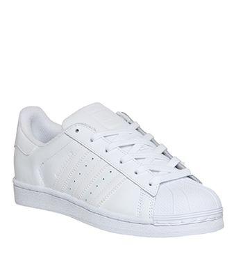 Adidas, Superstar , White Mono Foundation