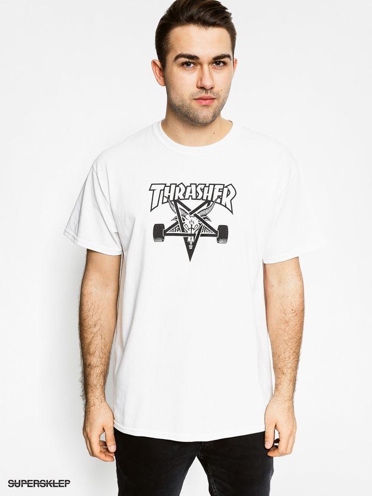 T-shirt Thrasher Skate Goat (white)
