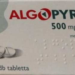 Az Algopyrin hatóanyaga a metamizole