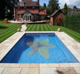 Glass Pool Mosaics