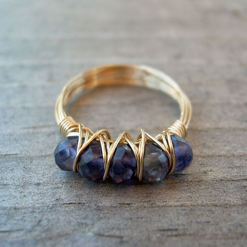 Iolite ring | Flickr - Photo Sharing!