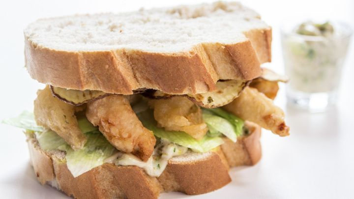 Scampi And Chip Sarnie