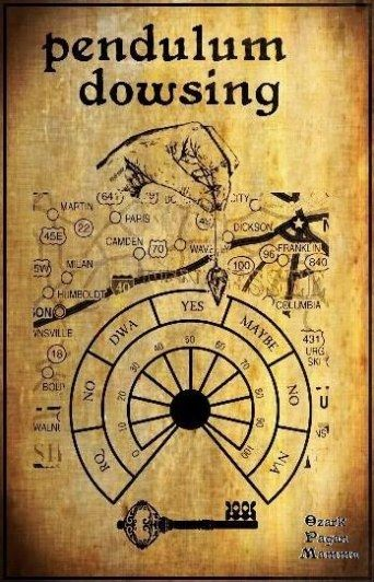 pendulum dowsing.. Just  repinned this because its a map with Camden in it.. Whattt