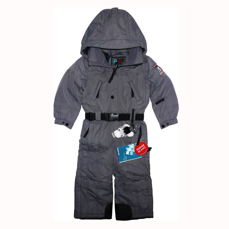 Poivre Blanc gray 1pc snowsuit w/ removable hood - TrendyBrandyKids -  European trendy clothes for