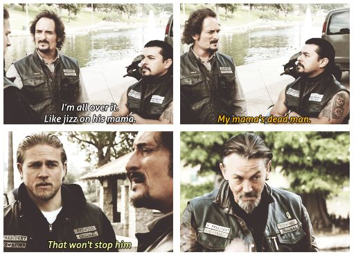 One of Tig's great one liners!!! Love that man!!