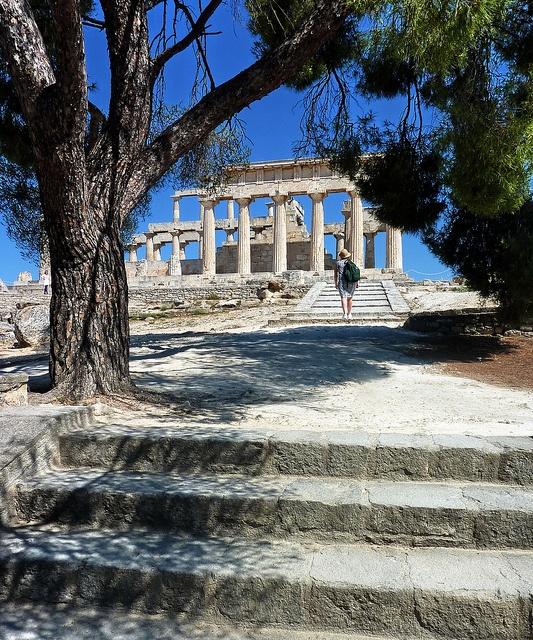 Aphaia temple - Aegina island, Saronic, Greece