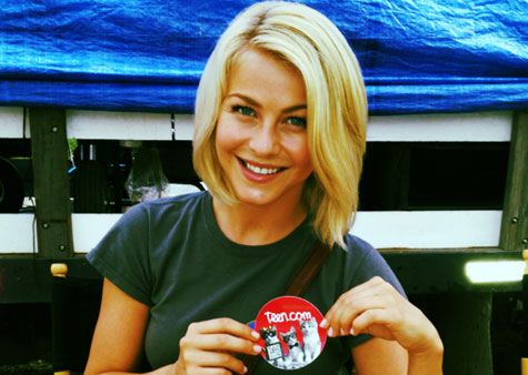 Julianne Hough, haircut