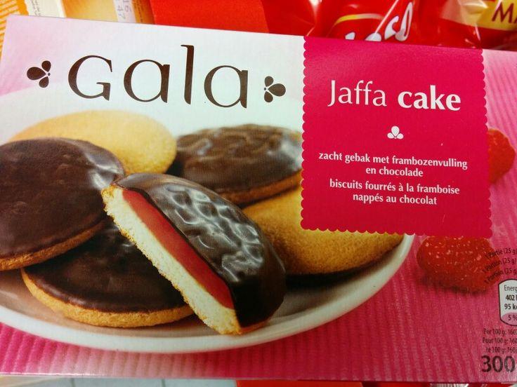 jaffa cake lactosevrij framboos Aldi