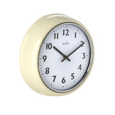 Acctim Cream wall clock | Debenhams