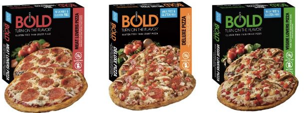 A new incredible dairy-free and gluten-free convenience food has snuck into the freezers. Bold Organics frozen pizzas are as amazing as they look!