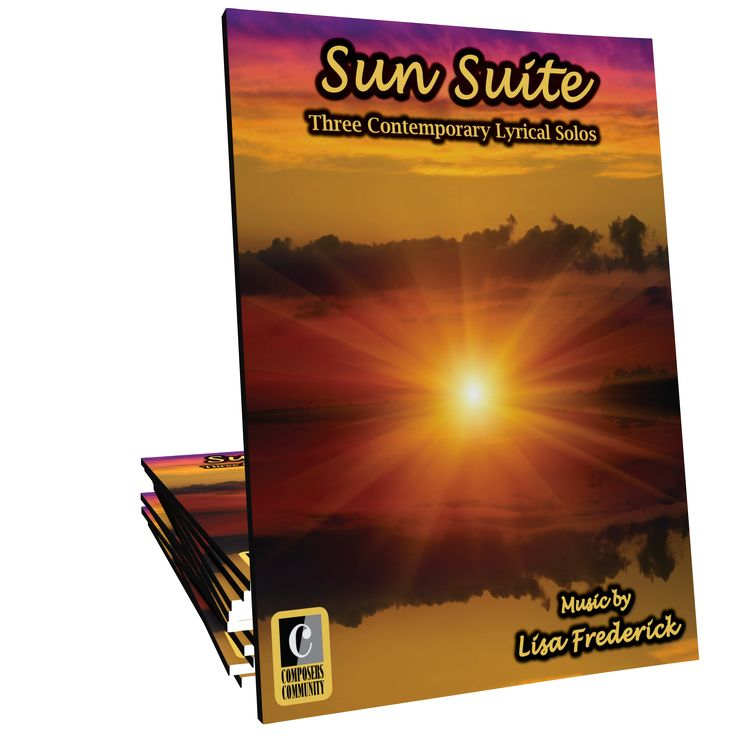 Sun Suite, by Canadian composer Lisa Frederick, is a set of three contemporary lyrical solos celebrating the beauty of the sun at different points of the day. This set is ideal for intermediates of all ages and will function well as a set or as separate showcase solos.<br />
