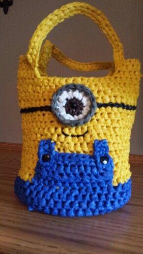 83 best Crochet Plarn images on Pinterest   Crochet bags, Crocheted ...