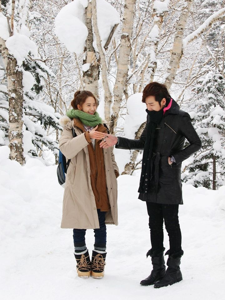 Love Rain.  One of my favorite K-Drama's.  (I loved the flash back in the 70's.)
