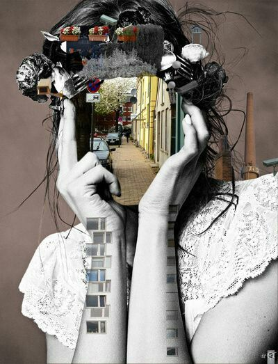 Digital Collage by Lara Lisa - Esempi di grafica digitale, manipolazioni grafiche e comunicazione visiva presentati da Dielle Web e Grafica #digital #graphic #manipulation # photoshop