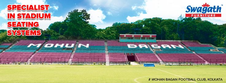 The #seating systems arrangement of Mohan Bagan football club, Kolkata was done by the specialist – Swagath. Visit us at www.swagath.co to check out for more information!! #mohanbagan