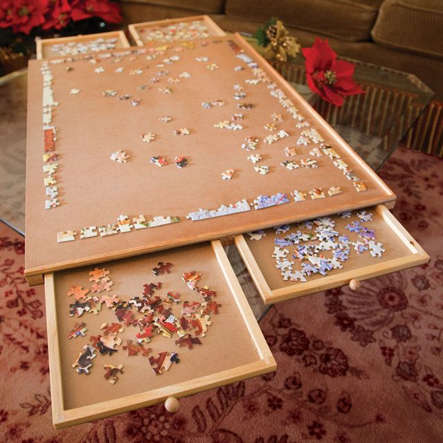 4 Drawer Puzzle Board by Kram79