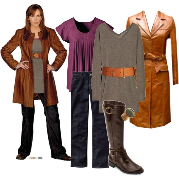 """""""donna noble"""" by rosetyler on Polyvore. Donna is awesome. Possibly my favorite Companion."""
