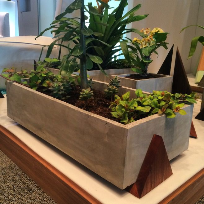 Concrete Planters By Modus Design. Made In Puerto Rico