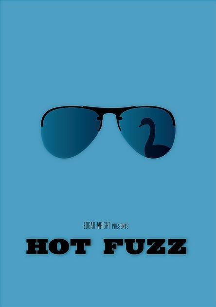 Hot Fuzz - movie poster - Sabrina Jackson