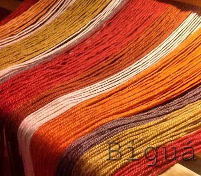 Colores de la temporada otoño-#invierno #Telar