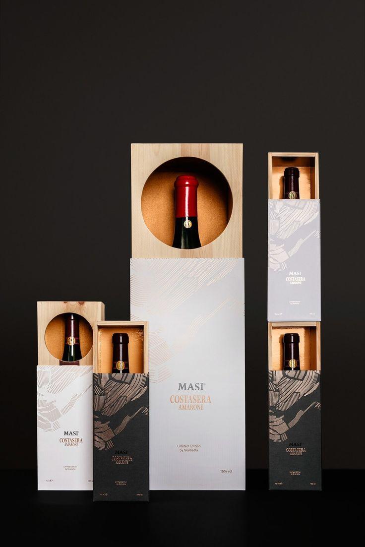 Snøhetta - Masi Costasera Amarone Gift Box #packaging #design — World Packaging Design Society│Home of Packaging Design│Branding│Brand Design│CPG Design│FMCG Design