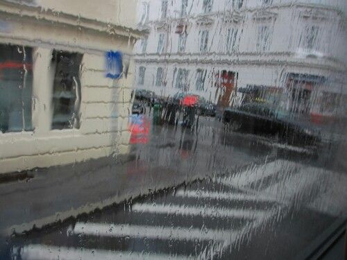 Raining in Salzburg