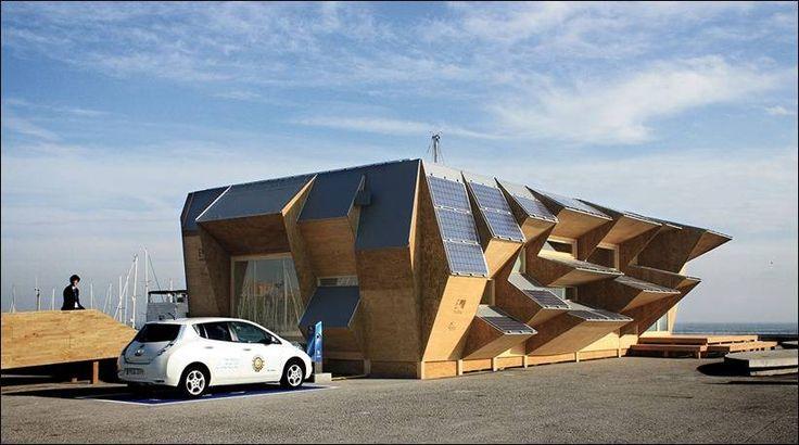Солнечный павильон House 2.0 в Барселоне + (Видео)