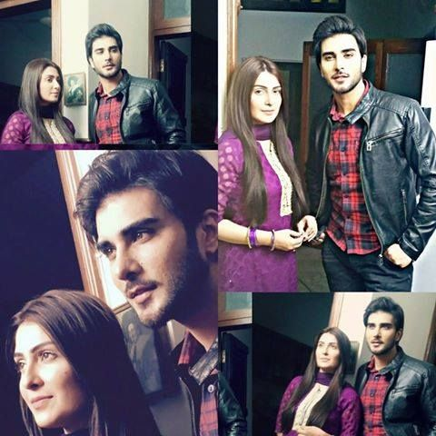 Imran Abbas and Aiza khan