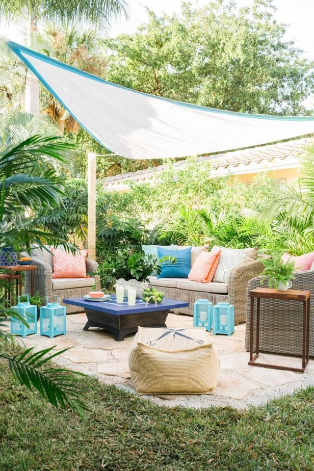 add outdoor living space with