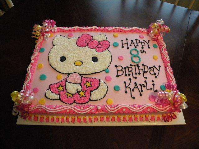 Hello Kitty Sheet Cake Images : hello kitty birthday cakes at walmart Recent Photos The ...