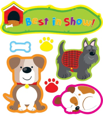 Darling Dogs Bulletin Board...I used this last year and loved it!