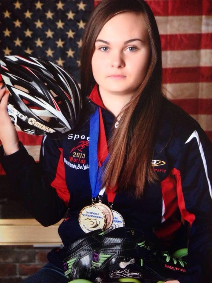 McKenzie Browne, Team USA Inline Speed Skating 2013