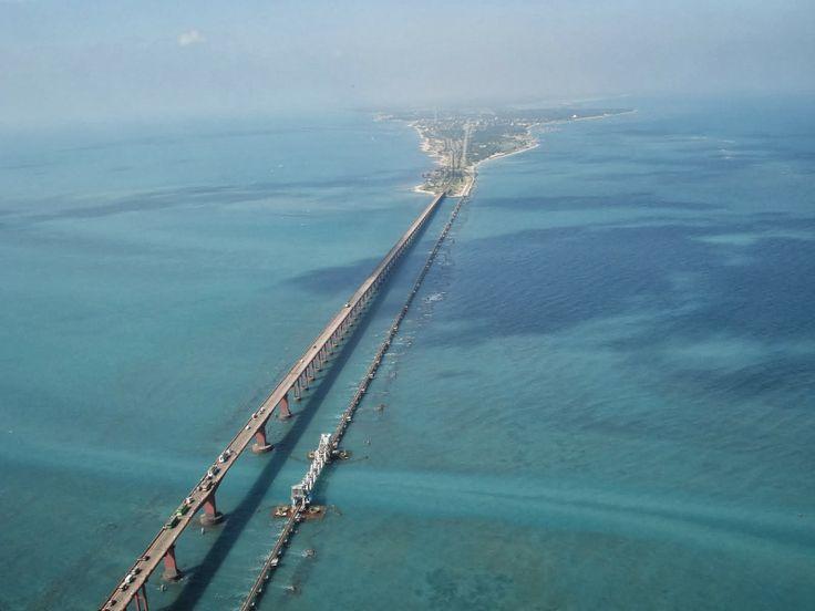 Pamban Bridge, Tamil Nadu, India: