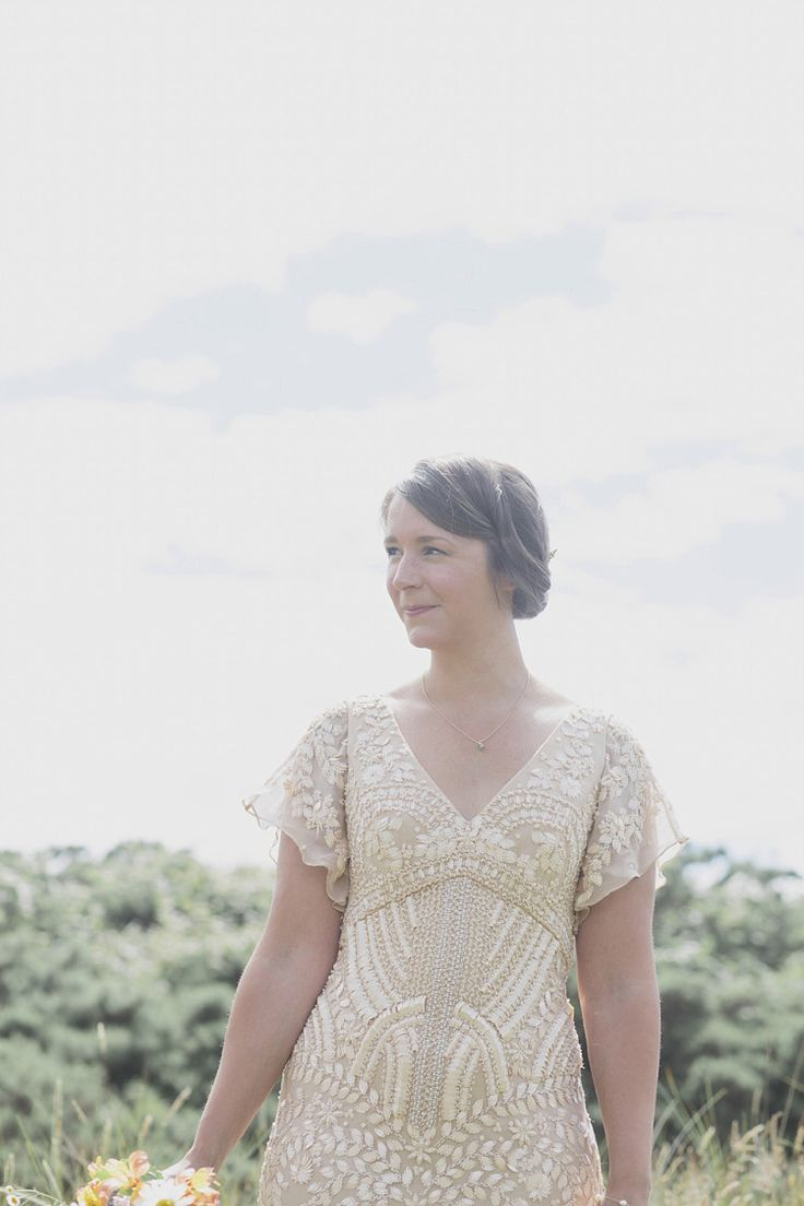 Bride Wears a Beautifully Embellished Eliza Jane Howell Dress  | Photography by http://www.mirrorboxphotography.com/